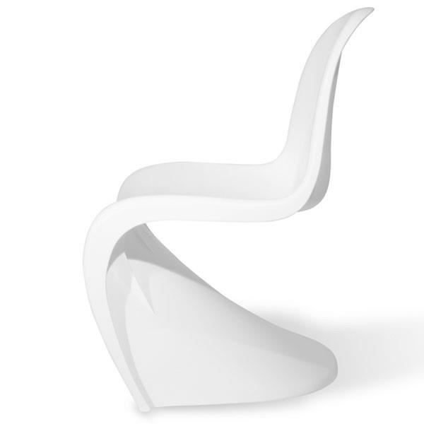 chaise panton blanche achat vente chaise blanc. Black Bedroom Furniture Sets. Home Design Ideas