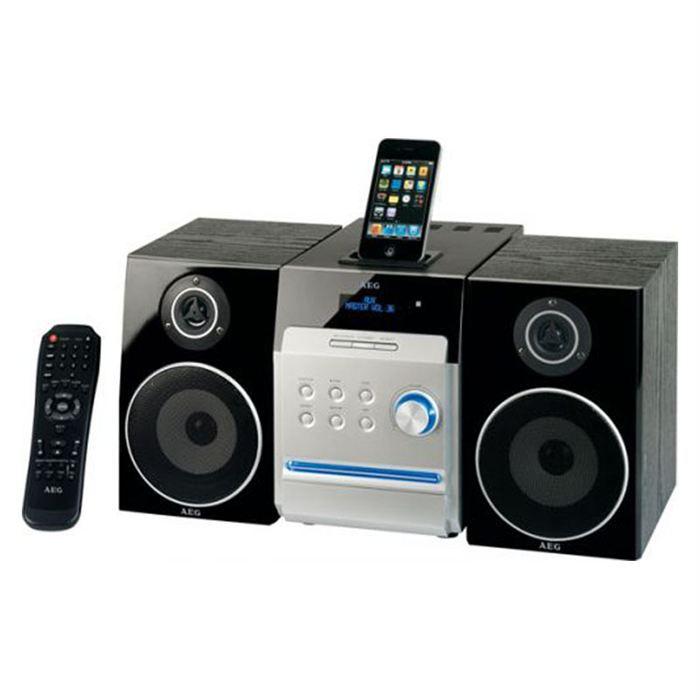 chaine hifi aeg mc 4448 chaine hi fi avis et prix pas cher soldes cdiscount. Black Bedroom Furniture Sets. Home Design Ideas