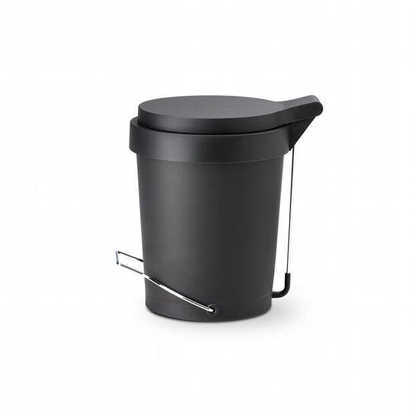 poubelle plastique 7l noire achat vente poubelle. Black Bedroom Furniture Sets. Home Design Ideas