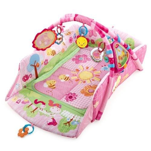 Bright starts achat vente tapis veil aire b b - Tapis d eveil fisher price zoo deluxe ...