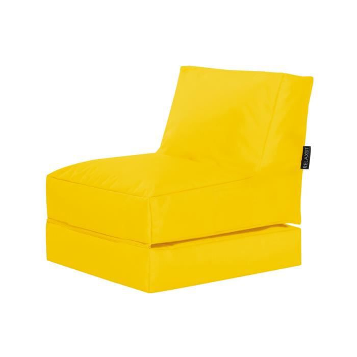 fauteuil multifonction twist jaune by sittingpoint achat vente chauffeuse 100 polyester. Black Bedroom Furniture Sets. Home Design Ideas