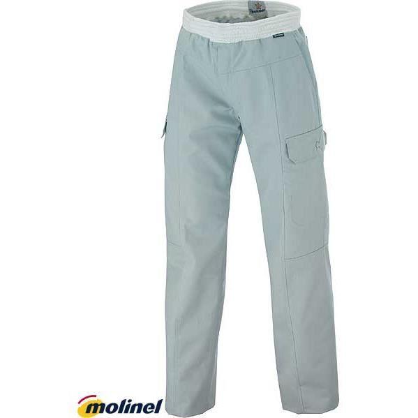 pantalons cuisine homme gris clair achat vente pantalon cdiscount. Black Bedroom Furniture Sets. Home Design Ideas
