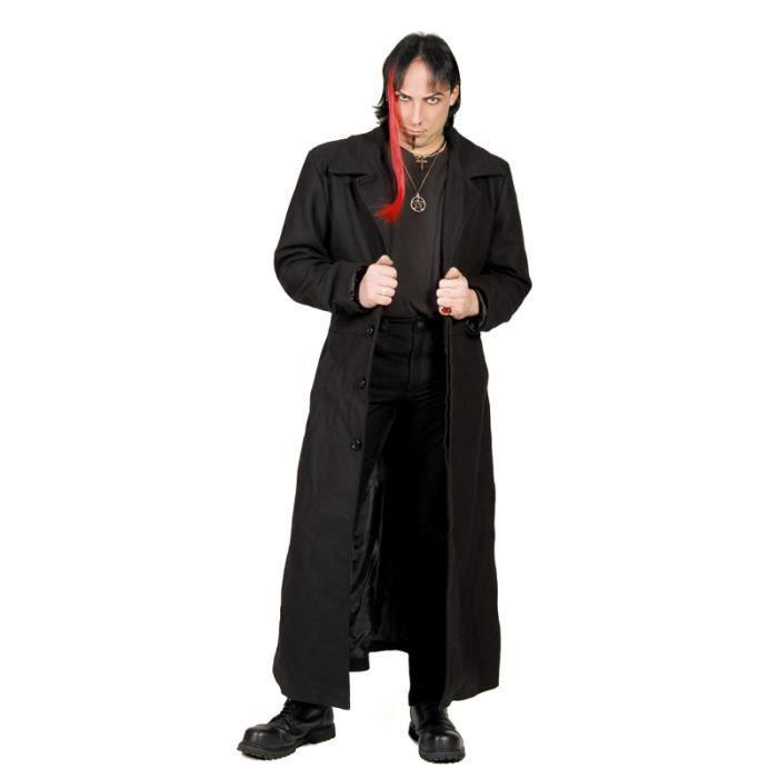 manteau homme gothique achat vente manteau homme. Black Bedroom Furniture Sets. Home Design Ideas