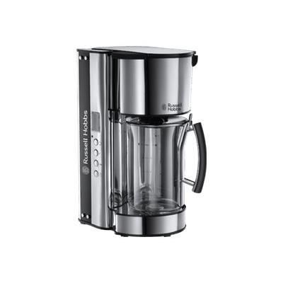russell hobbs black glass cafeti re achat vente. Black Bedroom Furniture Sets. Home Design Ideas