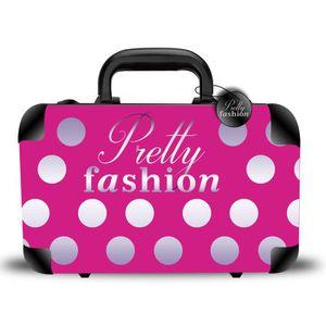 PALETTE DE MAQUILLAGE  Mallette de Maquillage Pretty Fashion 62pcs - Glos