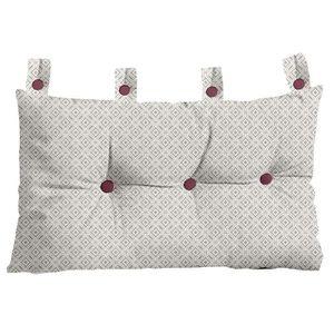 COUSSIN TODAY Tête de lit Faience 100% coton 45x70 cm grès