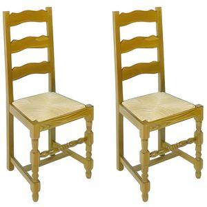 Chaise en paille achat vente chaise en paille pas cher for Assise de chaise