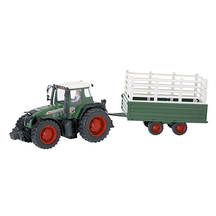 Tracteur friction remorque achat vente voiture camion cdiscount - Tracteur remorque enfant ...