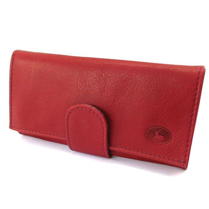 Grand porte monnaie cuir frandi bordeaux rouge achat vente porte monnaie 3609521139984 for Achat porte interieur bordeaux