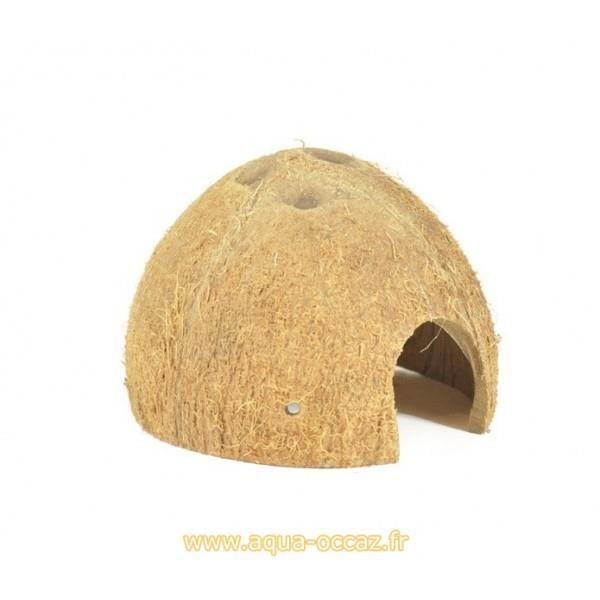 Decoration Aquarium Noix De Coco : Demi noix de coco décoration pour terrariums reptiles et