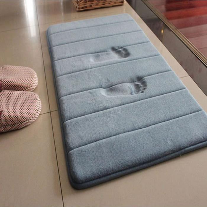 Tapis de bain en mousse 120 40 cm achat vente tapis de bain cdiscount Tapis de bain mousse memoire