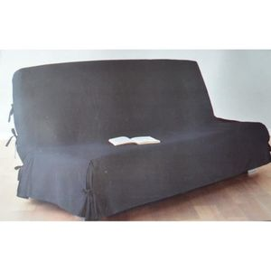 housse clic clac 140 200 achat vente housse clic clac 140 200 pas cher cdiscount. Black Bedroom Furniture Sets. Home Design Ideas