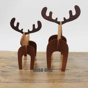 Decoration de noel renne achat vente decoration de noel renne pas cher cdiscount - Renne de noel en bois ...