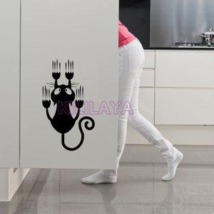 Stickers muraux de cuisine achat vente stickers muraux de cuisine pas cher cdiscount - Stickers muraux noir et blanc ...