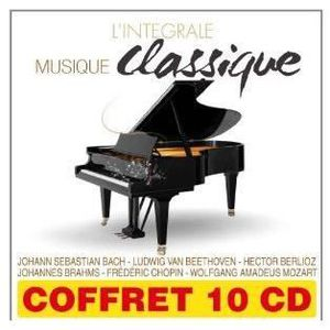 CD VARIÉTÉ INTERNAT Coffret 10 CD L'intégrale Musique classique