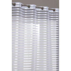 double rideau opaque achat vente double rideau opaque pas cher cdiscount. Black Bedroom Furniture Sets. Home Design Ideas