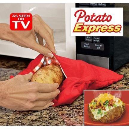 Sac de cuisson pomme de terre micro onde vapeur achat for Cuisson betterave micro onde