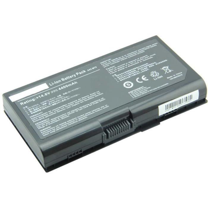 batterie d 39 ordinateur portable pour asus x71sl c1 prix pas cher les soldes sur cdiscount. Black Bedroom Furniture Sets. Home Design Ideas