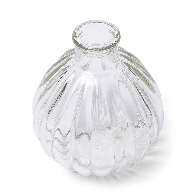 vase boule verre r tro 9 5 cm achat vente vase soliflore soldes d hiver d s le 11. Black Bedroom Furniture Sets. Home Design Ideas