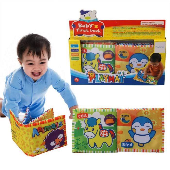 b b enfant tissu intelligent premier livre animaux jouets ducatifs achat vente anatomie. Black Bedroom Furniture Sets. Home Design Ideas
