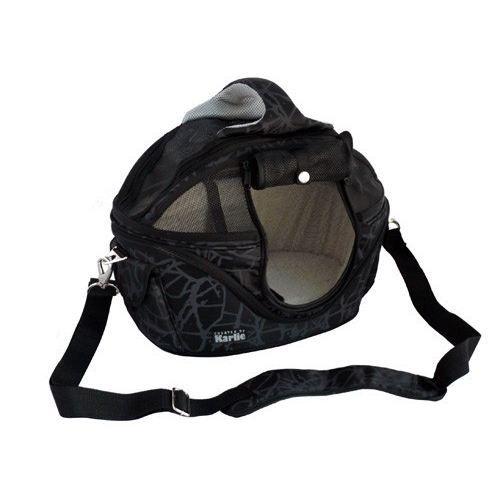 sac 2 en 1 shopper de luxe noir karlie couchage achat. Black Bedroom Furniture Sets. Home Design Ideas