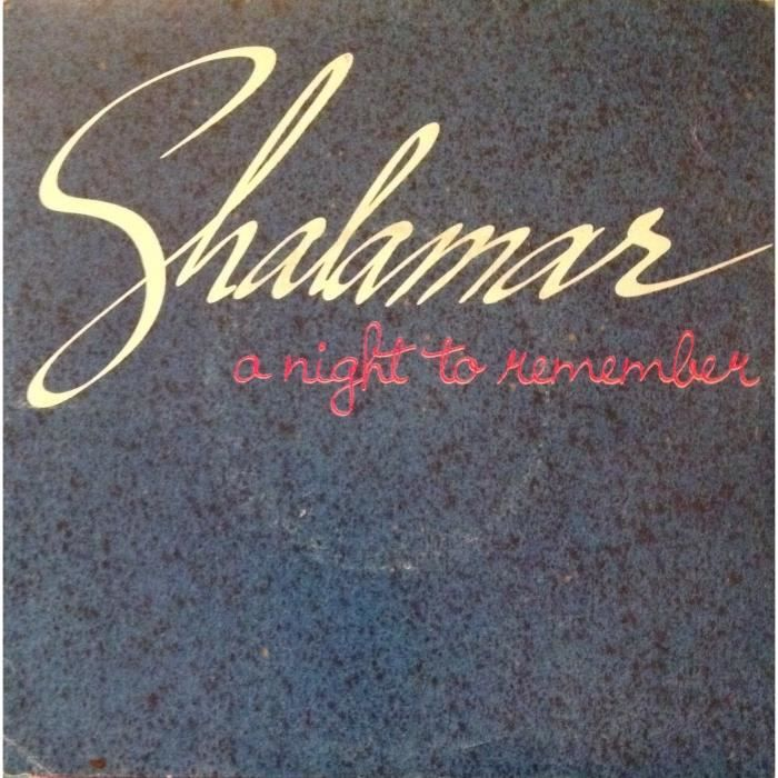 Shalamar A Night To Remember Plus Remix On Top Of The World