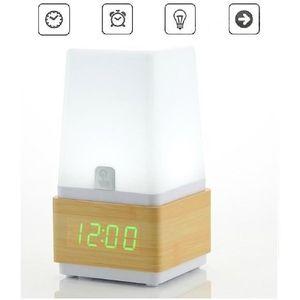 reveil lampe tactil achat vente reveil lampe tactil pas cher cdiscount. Black Bedroom Furniture Sets. Home Design Ideas