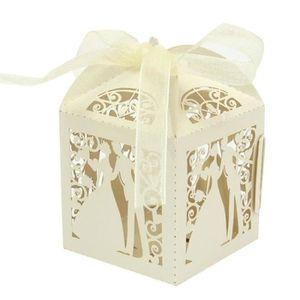 COFFRET THÉMATIQUE 50x mariage romantique boîte-cadeau élégante décor