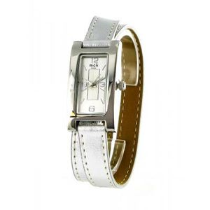 Montre bracelet cuir double tour femme pas cher
