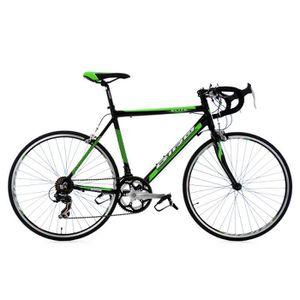 """VÉLO DE COURSE - ROUTE Vélo de course 26"""" Elite noir-vert TC 53 cm"""