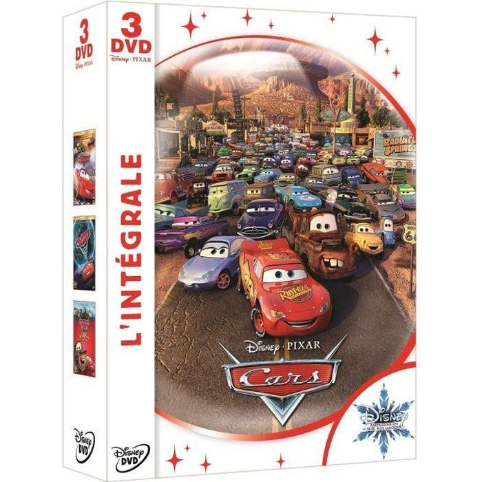 Coffret dvd int grale cars en dvd dessin anim pas cher cdiscount - Coffret coloriage cars leclerc ...