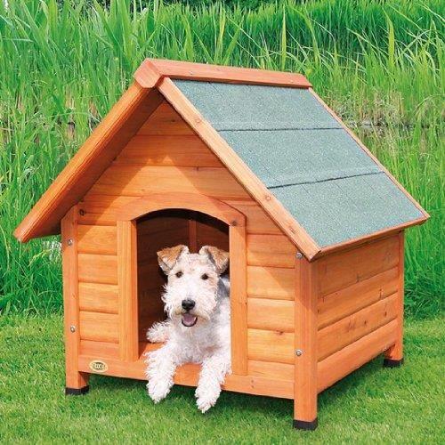 Niche exterieur jardin bois chien maison etanche achat for Maison etanche