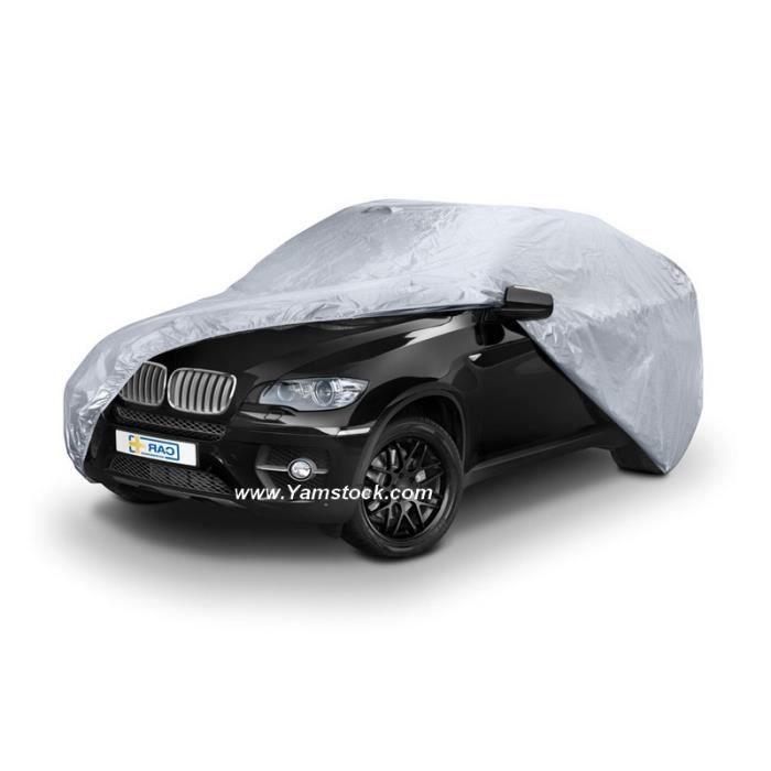 Housse de protection voiture 4x4 491x194x146cm achat for Housse protection voiture