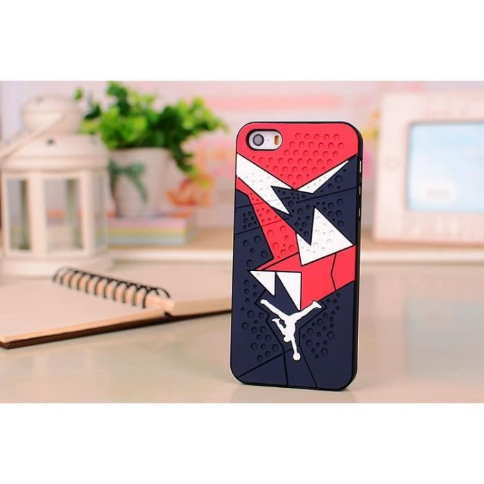coque basket jordan 3 iphone 5 5s gomme achat coque. Black Bedroom Furniture Sets. Home Design Ideas