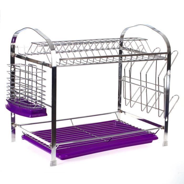 egouttoir a vaisselle plateau violet achat vente egouttoir couverts egouttoir a vaisselle. Black Bedroom Furniture Sets. Home Design Ideas