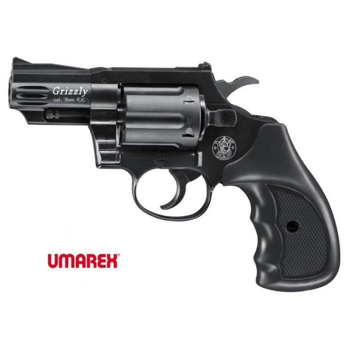 S w grizzly black arme de d fense cal 9mm r k prix pas cher cdiscount - Arme pas cher ...