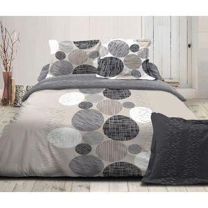 parure de lit en polyester microfibre achat vente parure de lit en polyester microfibre pas. Black Bedroom Furniture Sets. Home Design Ideas