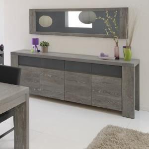 meubles s jour buffet bas gris achat vente meubles s jour buffet bas gris pas cher soldes. Black Bedroom Furniture Sets. Home Design Ideas