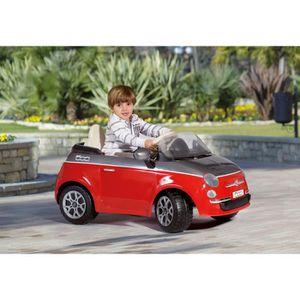VOITURE ENFANT PEG PEREGO Voiture Electrique Enfant Fiat 500 Roug