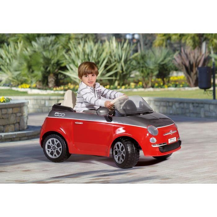 peg perego voiture electrique enfant fiat 500 rouge 6. Black Bedroom Furniture Sets. Home Design Ideas