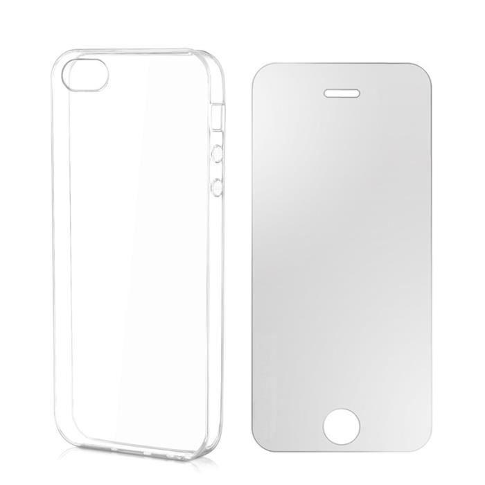 coque souple verre tremp compatible iphone 5 achat coque bumper pas cher avis et. Black Bedroom Furniture Sets. Home Design Ideas