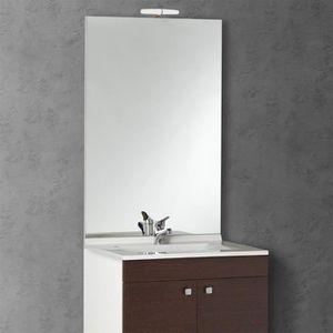 Miroir salle de bain 60 cm x 70 cm achat vente miroir for Applique miroir salle de bain 60 cm