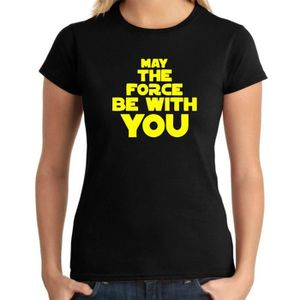 T-SHIRT T-shirt femme DTR0093 May The Force Be With You 25