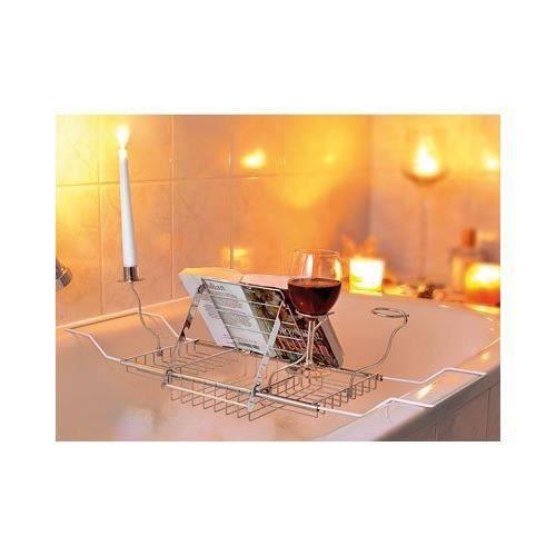 Tag re pour baignoire achat vente porte accessoire for Accessoire porte savon pour baignoire