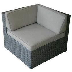 fauteuil d angle hannah achat vente fauteuil jardin fauteuil d angle hannah cdiscount. Black Bedroom Furniture Sets. Home Design Ideas