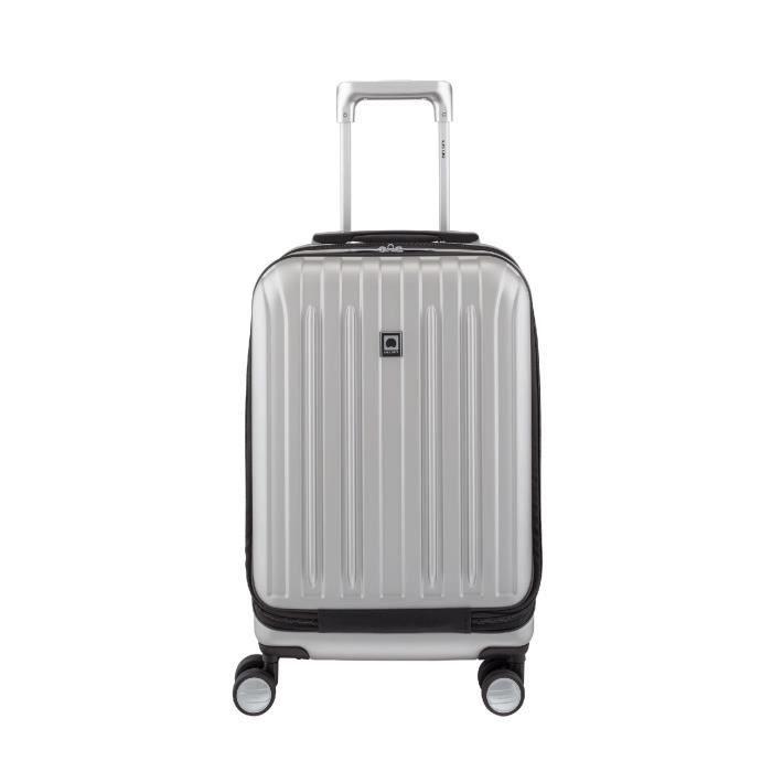 valise 4 roues delsey polycarbonate taille cabine 55cm gamme vavin s curit achat vente. Black Bedroom Furniture Sets. Home Design Ideas