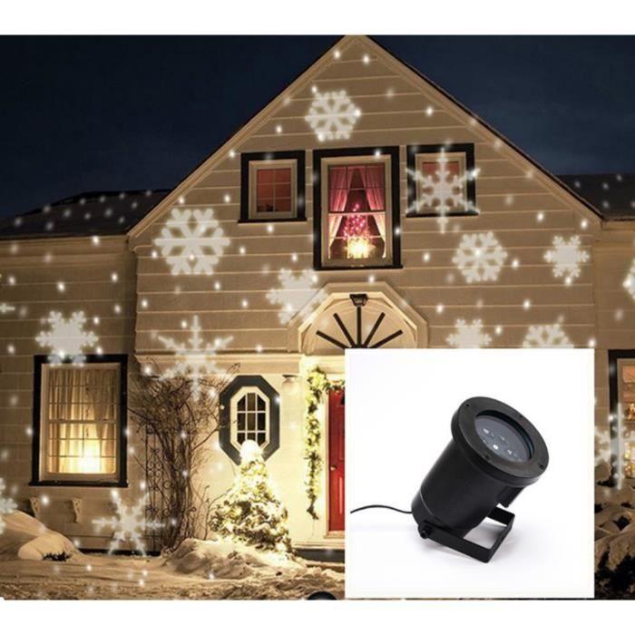projecteur flocon neige. Black Bedroom Furniture Sets. Home Design Ideas