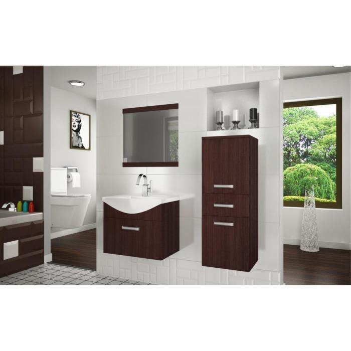 justhome fine i ensemble salle de bain couleur ch taigne achat vente salle de bain. Black Bedroom Furniture Sets. Home Design Ideas