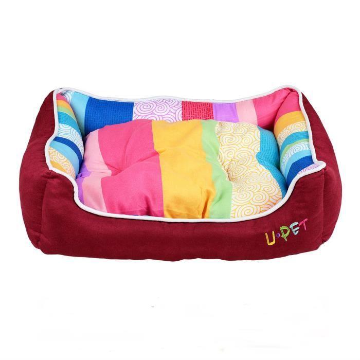 tarion lit panier corbeille matelas rectangle avec coussin 48x35x10cm pour chat chien chiot. Black Bedroom Furniture Sets. Home Design Ideas