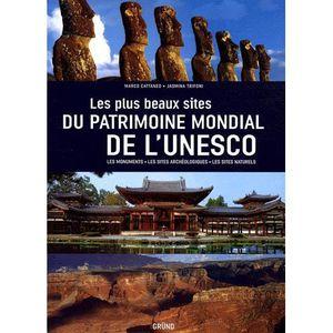 LIVRE NATURE Les plus beaux sites du patrimoine mondial de l'Un
